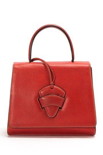 Vintage Loewe Leather Handbag on HauteLook | See more about Leather Handbags, Handbags and Leather.