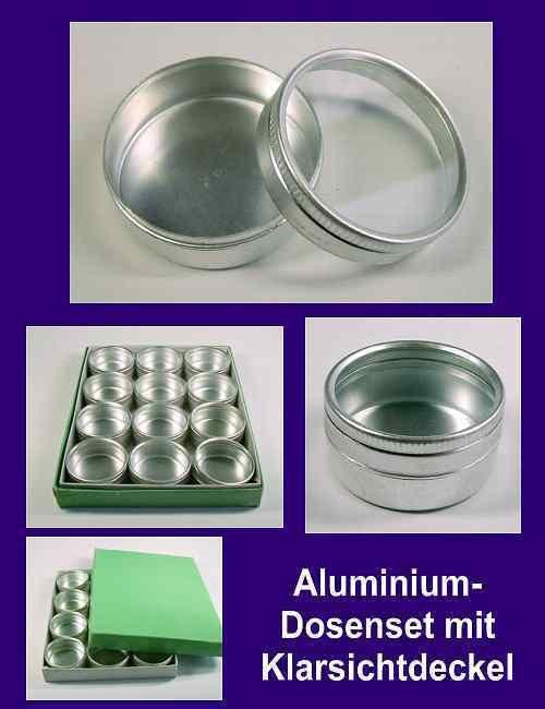 24 Alu-Dosen Aluminium-Dosen Aluminiumdosen 452114 in Möbel & Wohnen, Klein- & Hängeaufbewahrung, Boxen | eBay!
