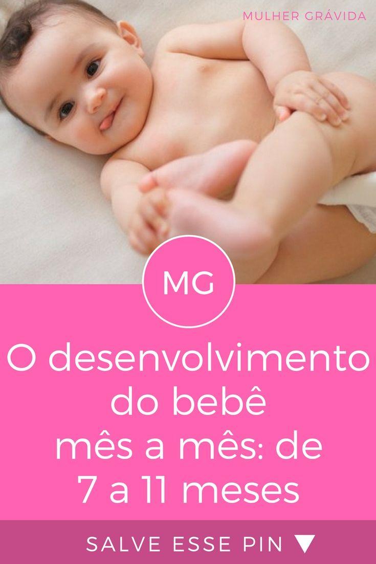 O Desenvolvimento Do Bebe Mes A Mes De 7 A 11 Meses
