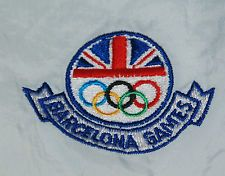 RARE VINTAGE GREAT BRITAIN UK OLYMPIC TEAM BARCELONA 92 ADIDAS TRACKSUIT JACKET