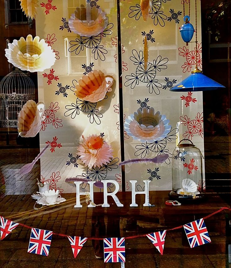 A visual merchandising project by second year student Georgie - local Truro business Uneeka sponsored  Georgie to design a Jubilee window.  Georgie has gone onto study Interior Design.