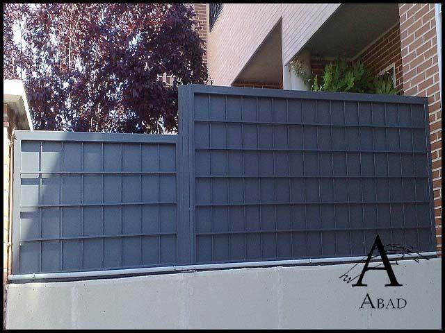 las vallas metlicas aportan a su vivienda una mayor privacidad y seguridad as en un