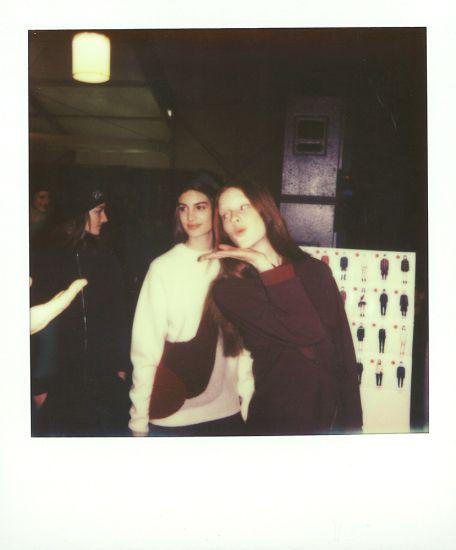 Lacoste AW 14/15, backstage by Jonas Huckstorf