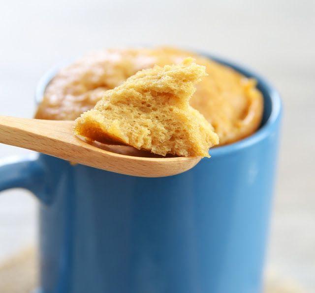 3 Ingredient Flourless Peanut Butter Mug Cake   Kirbie's Cravings   A San Diego food & travel blog