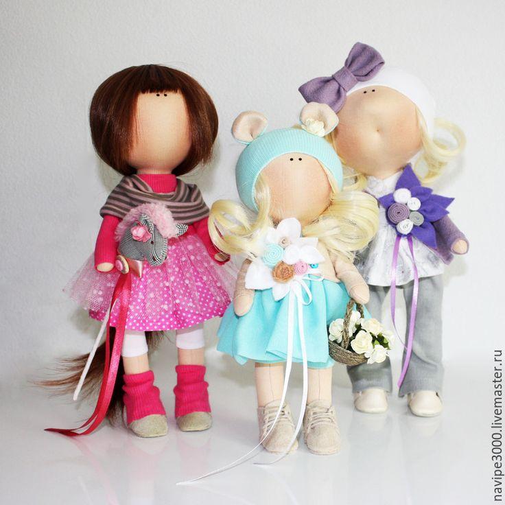 Купить Интерьерная кукла - бирюзовый, интерьерная кукла, интерьерная игрушка, тильда, тильда кукла, кукла