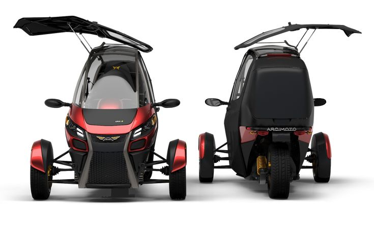 The Arcimoto SRK is small, quick, and affordable, and it could be the perfect getaround car for cities and urban areas.
