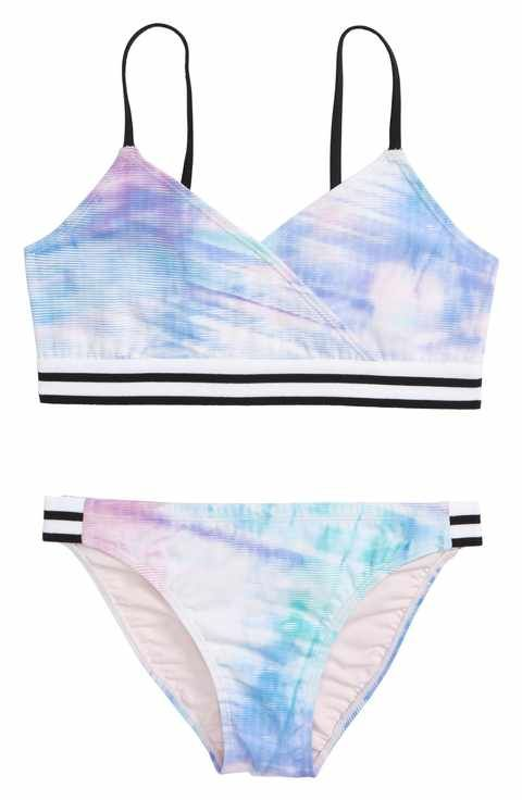 f8f0098abc Zella Girl Retro Two-Piece Swimsuit (Big Girls) | Clothes for me and ...