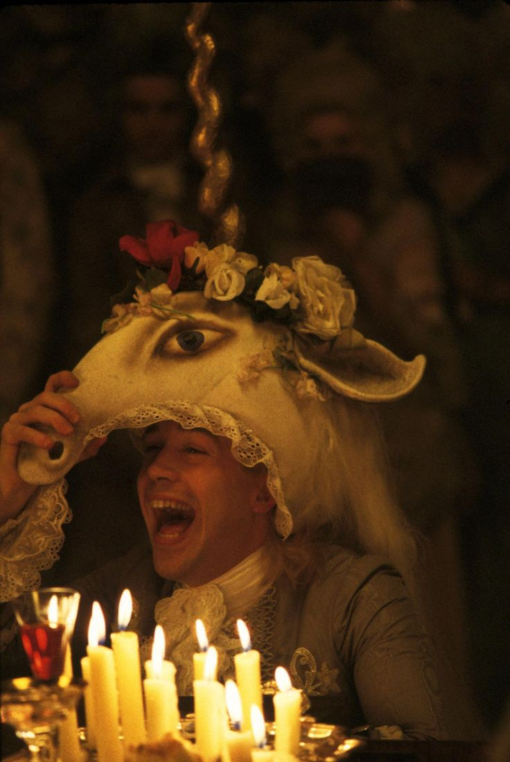Amadeus, 1984. This was my favorite movie for a while growing up. Still watch it at least once a year. Love his laugh.