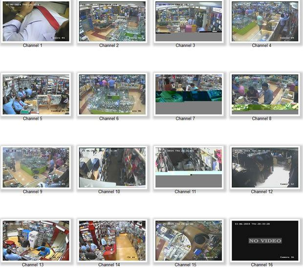 Peeping into 73,000 unsecured security cameras via default