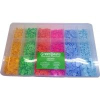 Fischer Plastics Box with 6 x 100 Full Snap Sets - GreenBeanz $42.40, you choice of size20 snap colours