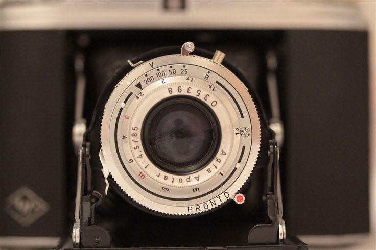 Agfa Isolette II - Vintage bälgkamer i mycket gott skick - Tillverkad ca