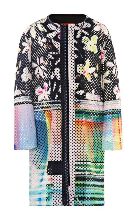 Garden Plaid Jacket by Clover Canyon for Preorder on Moda Operandi