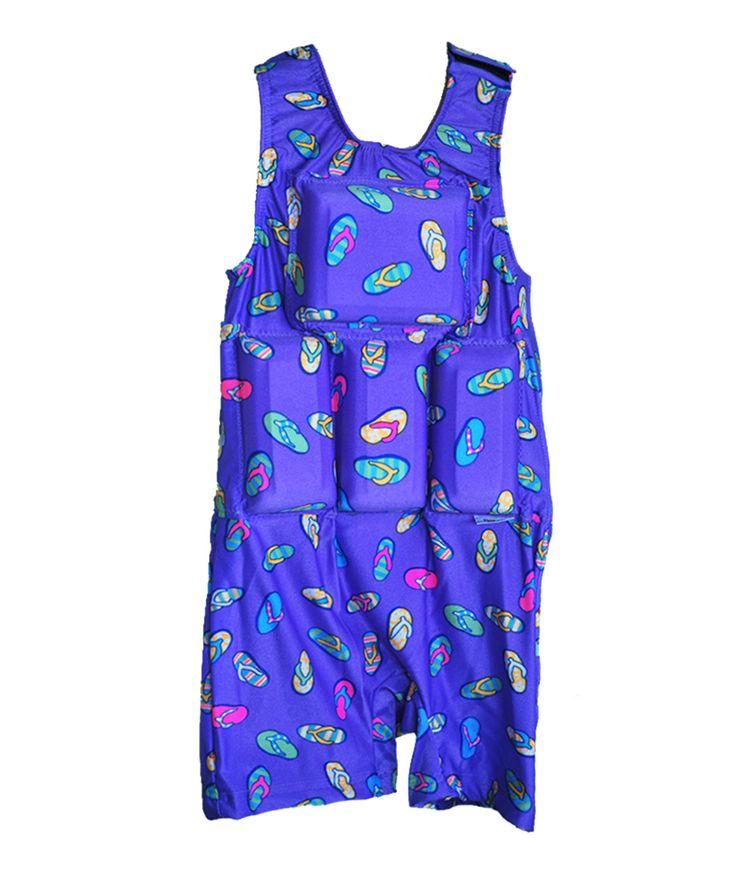 Blue Flip Flop Flotation - Infant & Toddler