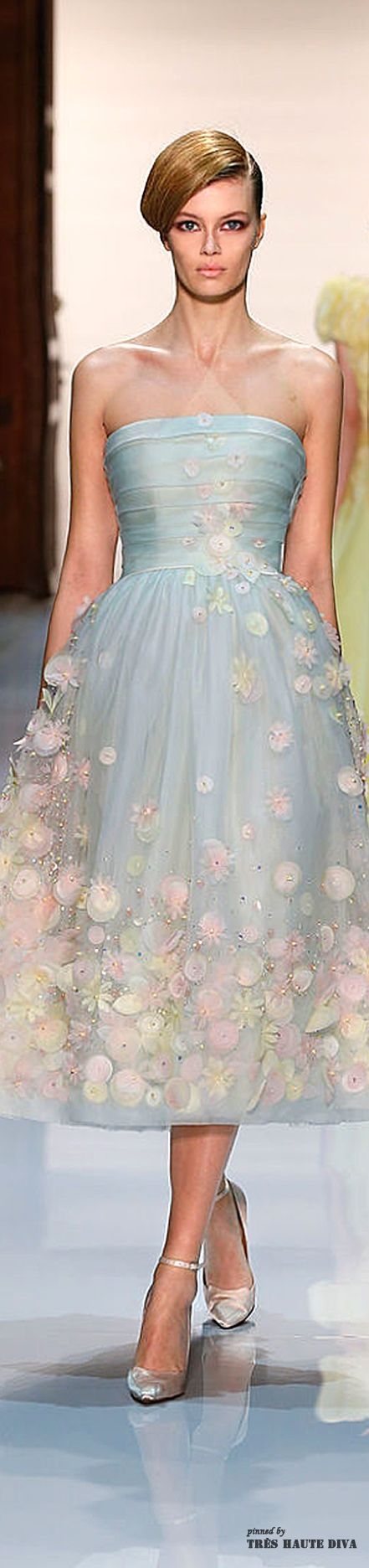 """I absolutely love this gown from #Georges Hobeika Spring 2014 Couture ♔ Runway, it is very """"me""""."""