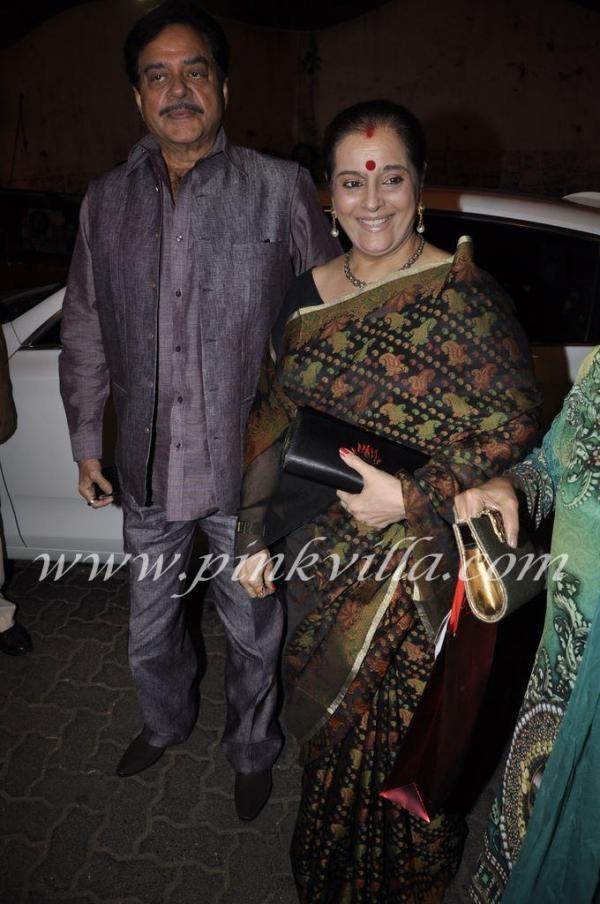 Poonam Sinha at SLB's Birthday.
