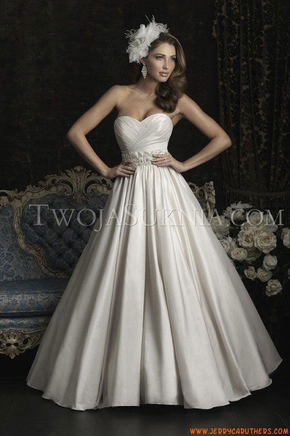 51 best trouwjurken allure images on pinterest short for Allure short wedding dress