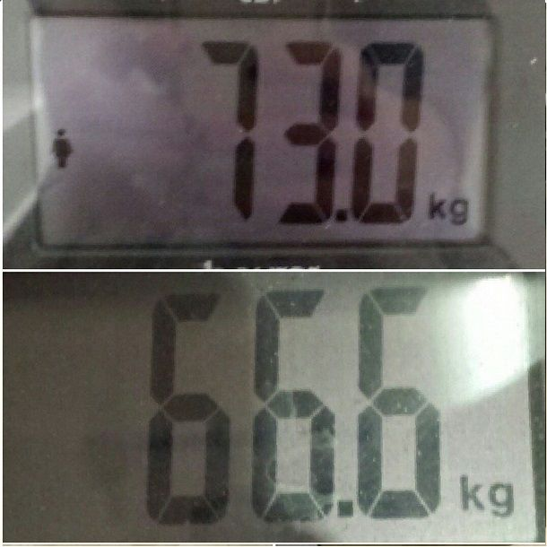 6,4 kgs lost in 5 weeks! Check out my youtube channel! https://www.youtube.com/channel/UCsRD-vYyQtKs3JcKRq5BOnQ/videos