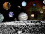 Our solar system viewed by the Hubble.
