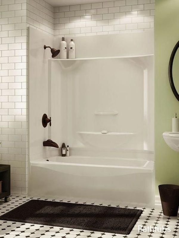 Bathtub Vintage Bathroom Tub Shower Combo Tub Shower Combo Bathroom Tub Shower