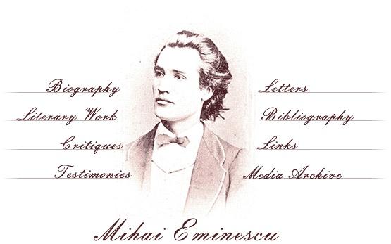 MIHAI EMINESCU   1850-1889