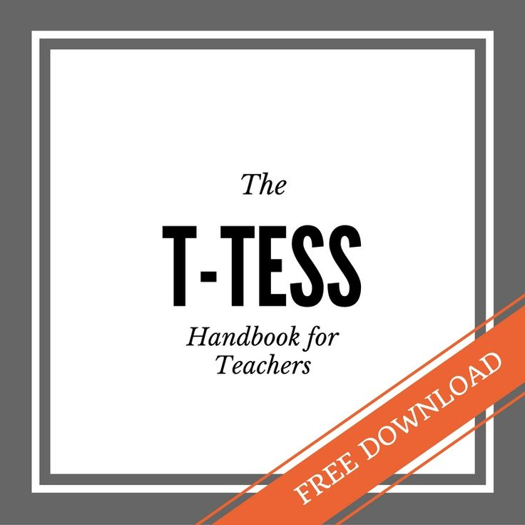 T-TESS Overview for Texas Teachers-Plus a Free Downloadable Handbook! — Stage and Craft