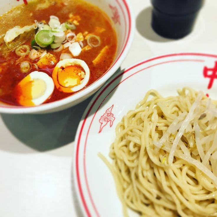 #ラーメン #メンラー #つけ麺 #冷し五目蒙古タンメン #おいしい #しあわせ #中本 by rittan92