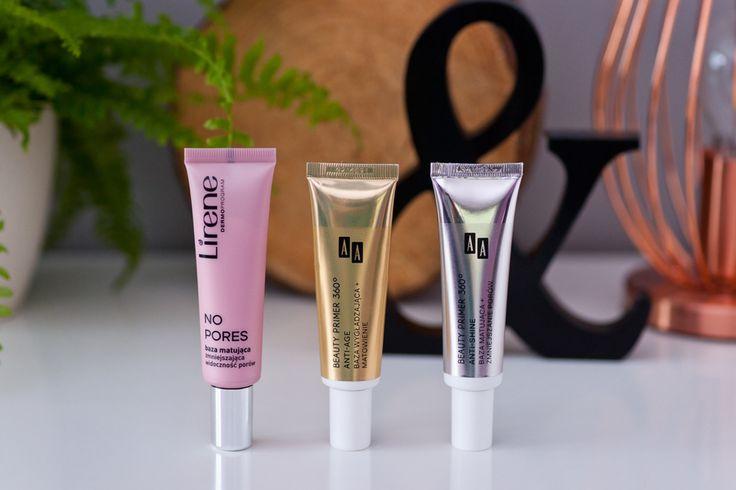Baza pod makijaż AA anti shine vs baza pod makijaż Lirene no pores