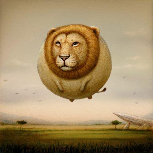"""Balloon Lion"" ~ Naoto Hattori"