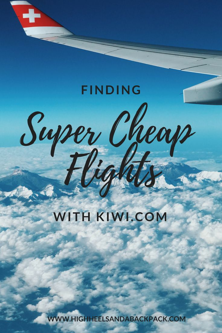 Kiwi.com offers much cheaper flight routes than other comparison sites - perfect for  Backpackers and long term travelers!