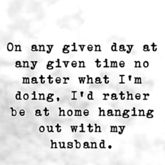 Always.  Absolutely.  Without fail.  And now... I'd rather be with my husband and son. :-)  I don't do much of anything without my two favorite people.