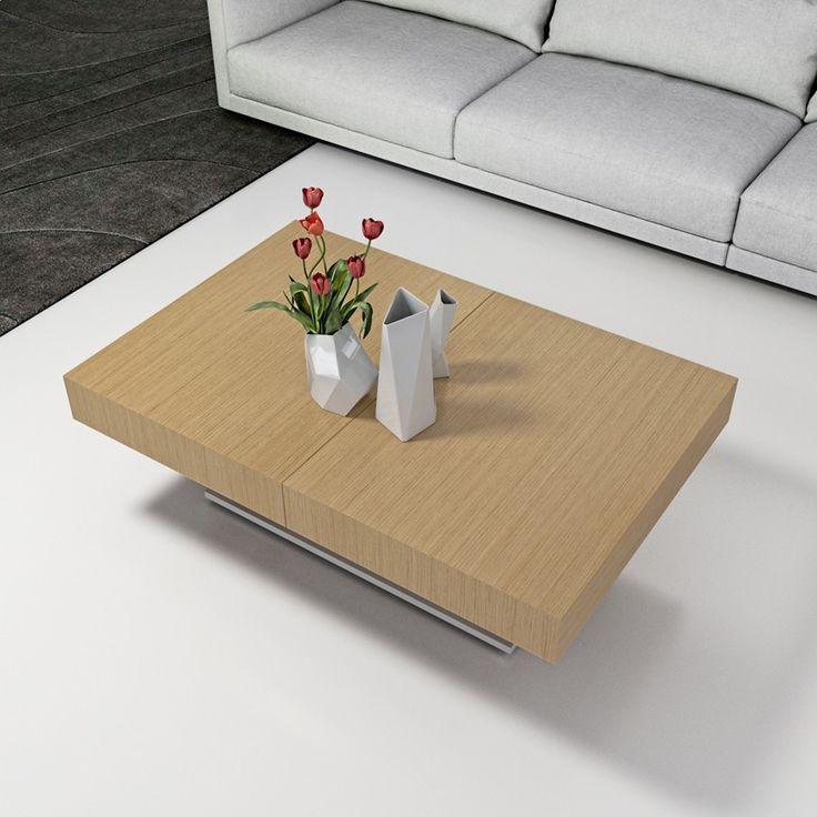 Les 25 meilleures id es de la cat gorie table basse relevable extensible sur - Table basse relevable haut de gamme ...