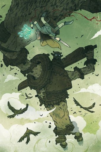 speakingofcomics: Shadow of the Colossus Guillaume Singelin