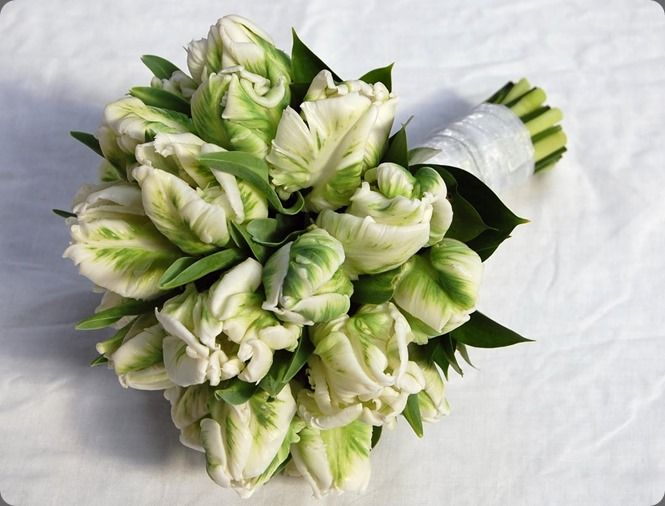 Ramo de novia de tulipanes :: Tulips wedding bouquet by Mood Flowers