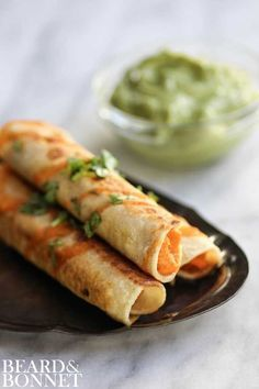 Sweet Potato & Lime Taquitos {Beard and Bonnet} #glutenfree #vegan