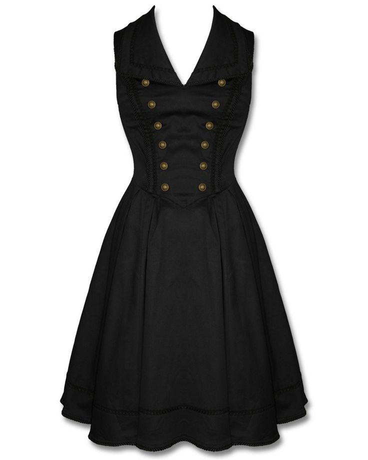 SPIN DOCTOR NASTASYA DRESS - BLACK Preview