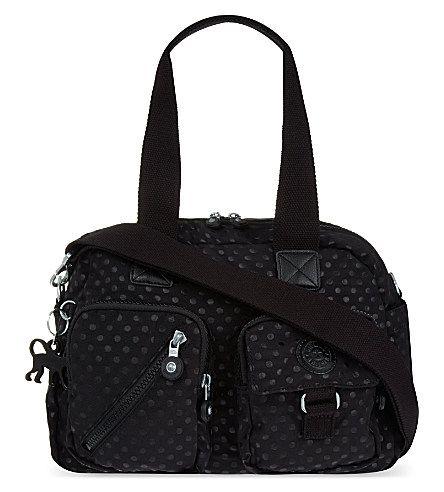 KIPLING Defea bag (Black+dot+emb