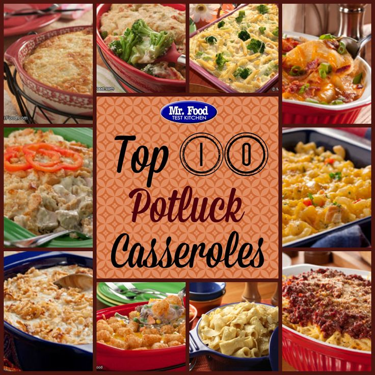 These 10 Potluck Casseroles Are Great To Bring Along To