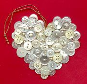 Cute As A Button Heart Valentine: A free written tutorial by Piece-By-Number.