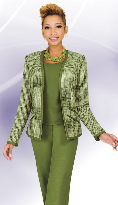 BM11235-OLM,Ben Marc Executive Spring And Summer Church And Career Suits 2015
