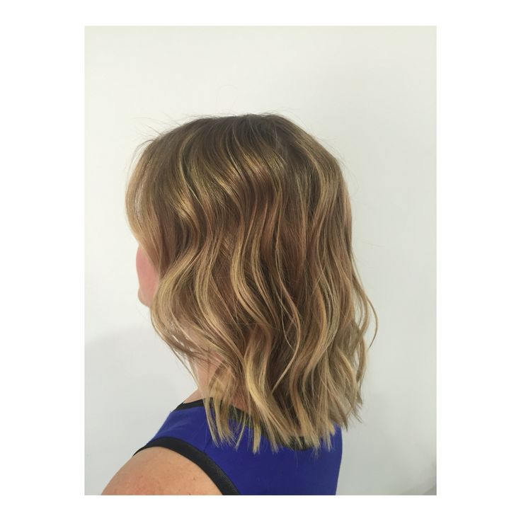 Natural blonde highlights by Mia Doak
