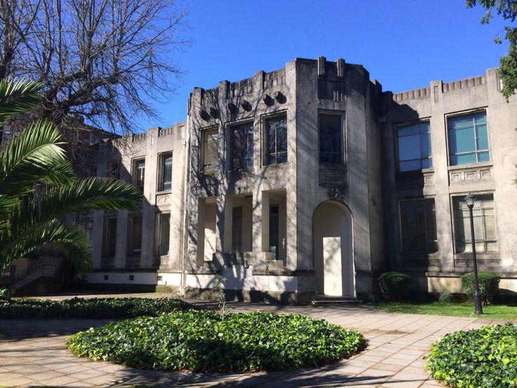 El antiguo pabellón del Departamento de Anatomía de la Universidad de Concepción