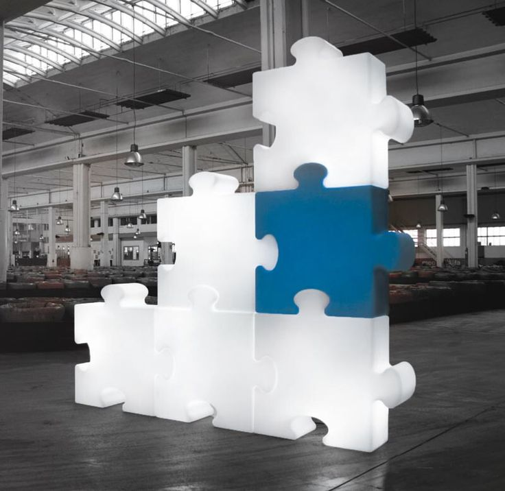 Puzzle Floor Lamp