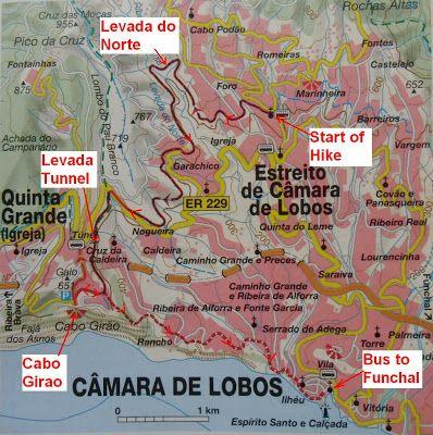 dutchlink: Hike Madeira via Levada do Norte to Cabo Girao 21 Oct 2012