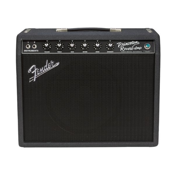 Fender '68 Custom Princeton Reverb - Limited Edition Black and Blue - Riff City Guitar Outlet