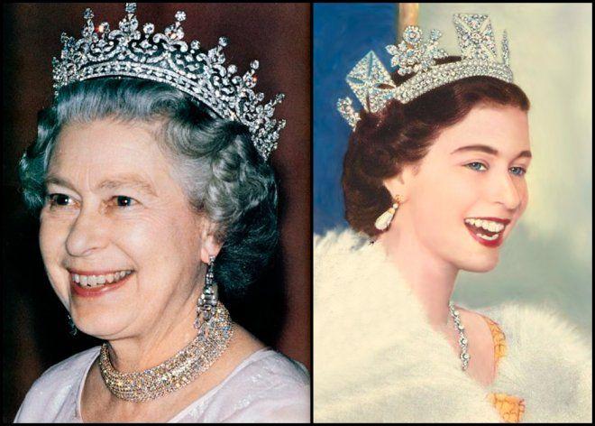 Консервативный стиль одежды английской королевы Елизаветы II