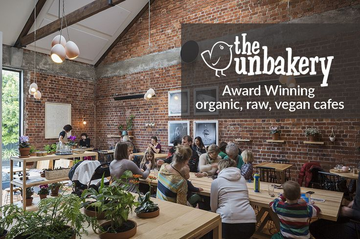 the unbakery - award winning organic, vegan cafes
