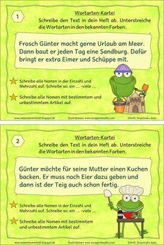 Materialwerkstatt: Deutsch Wortarten