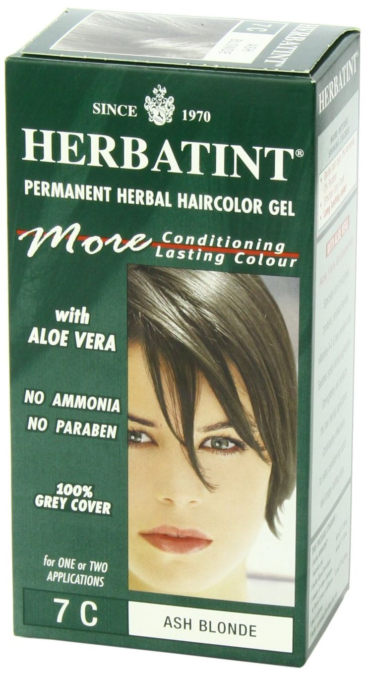 Herbatint Haircolor Gel, 7C Ash Blonde, 4.56 Fluid Ounce -- To view further for this article, visit the image link. #hairstyle
