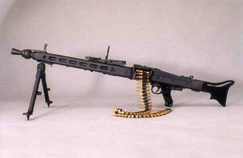 6.mg3 machine gun