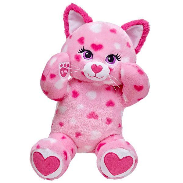 17 in. Huggable Hearts Kitty | Build-A-Bear Workshop